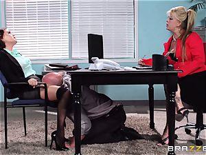 Krissy Lynn suffers her roughest interview