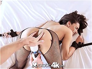 Exotic4k mexican Adrian Hush corded up screw and internal cumshot