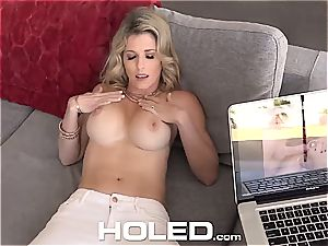 HOLED TIMELESS mummy Cory chase dripping anal invasion internal ejaculation