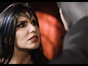 Justice League hardcore part five - Hero lovemaking with Romi Rain