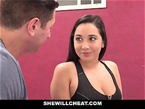 SheWillCheat cuckold girlfriend Karlee Grey porks Trainer