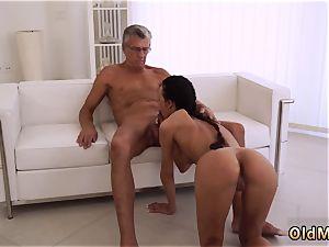 enjoys daddy manstick finally she s got her manager pecker