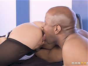 Alexis Fawx boned by giant big black cock
