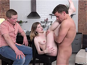 Russian girlfriend gets sold by her guy