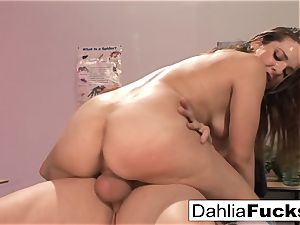After class sensational lesson for Dahlia Sky