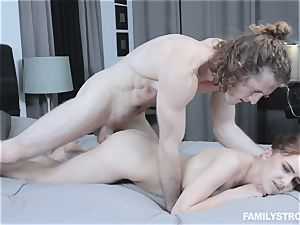 Kelsey Kage messing with her super-naughty step brother