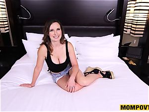 super-cute humungous mounds inexperienced wifey torn up point of view