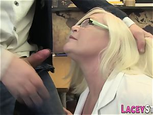 Mature doctor backside fucked