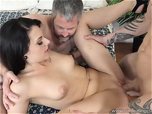 Megan Sages spouse wanks tiny boner As She Gets boinked