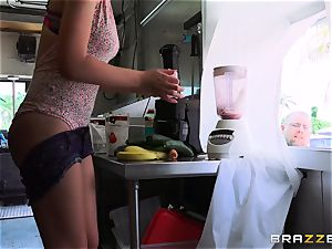 delicious honey Joseline Kelly gets pummeled as she complies