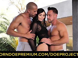 BALLER TALES - super-fucking-hot Ariana Marie in super-fucking-hot 3some ravage