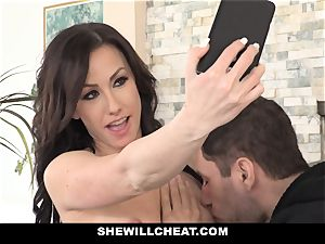 SheWillCheat hot wife Cheats with hubbies playmate